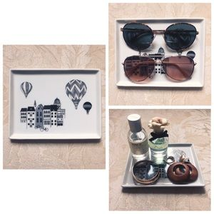 Anthropologie Painted Jewelry/ Accessories Tray